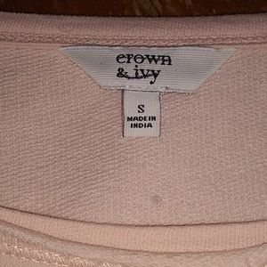 crown & ivy Tops - Crown & Ivy long sleeve shirt Small NWT